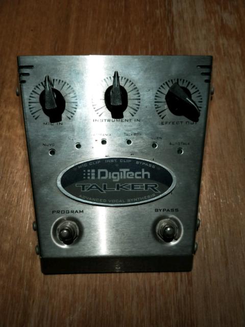 Digitech talker  Original, much sort after vocoder for guitar | Guitars