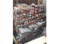 Red Reclaimed Engineering Bricks 235 x 80mm Brick need cleaning