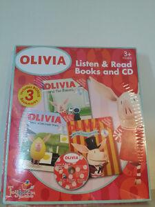▀▄▀Olivia Books/CD/ 3+Years