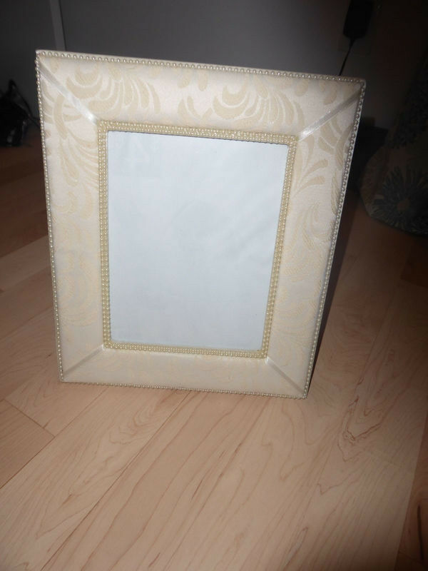 Wedding picture frame, ring bearer pillow $ 5 ea | Hobbies & Crafts ...