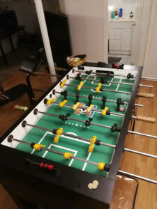 Tornado Foosball table for sale or trade for Fabi coin op