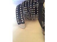 Diamanté belt
