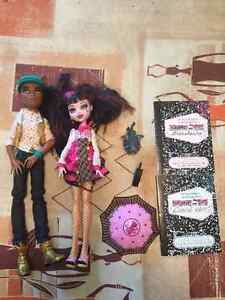 Monster High DRACULAURA & CLAWD