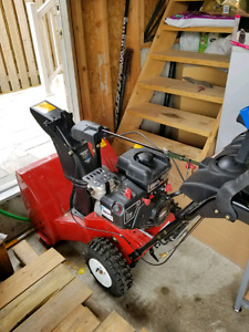 Almost brand new snow blower