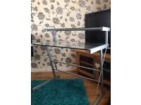Dressing table with matching side stand