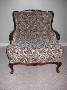Vintage French Provincial Sofa and Chairs Peterborough Peterborough Area image 1