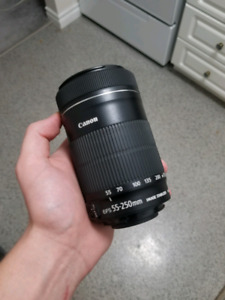 Canon Telephoto Lens (55mm - 250mm)