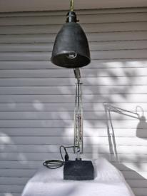 Elegant and stunning Vintage Herbert Terry 1209 Anglepoise lamp