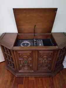 Cabinet Record Player