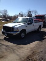2004 F250 SD Diesel Pickup with Liftgate.