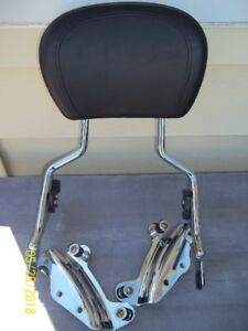 Backrest quick detach & docking kit + other parts