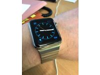 Apple Watch. Stainless steel. 42mm link bracelet.
