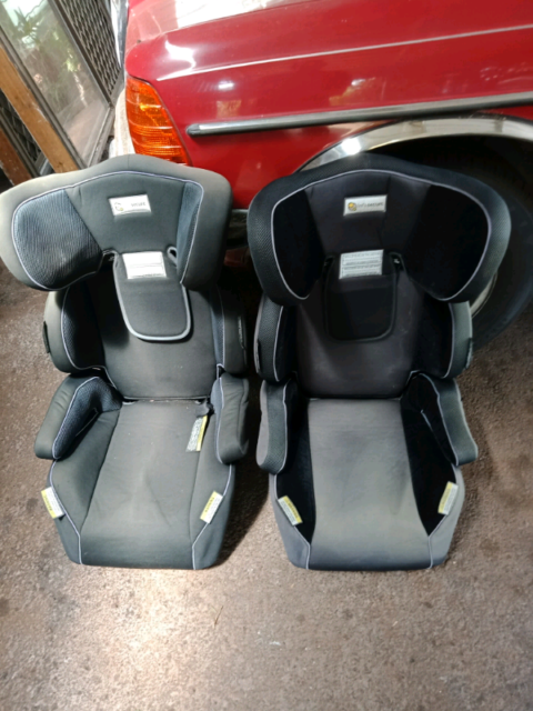 2 X Infasecure Child Booster Seat Up To 7 Year Old Child Car Seats