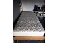 Guest bed and mattress - single