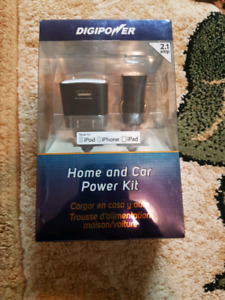 Digi power home and car power kit charger brand new for sale