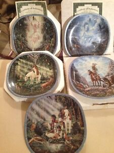 Vision of the Sacred Plate Collection-Bradford Exchange Strathcona County Edmonton Area image 1