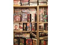 Huge vhs video collection
