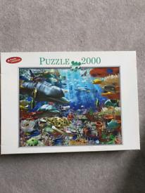 2000 piece jigsaw underwater world