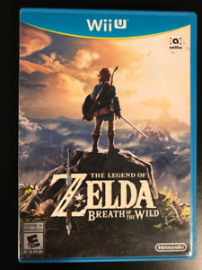 Zelda Breath of the Wild (BOTW) - Wii U