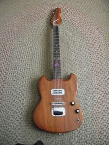 Vintage hand crafted electric guitar