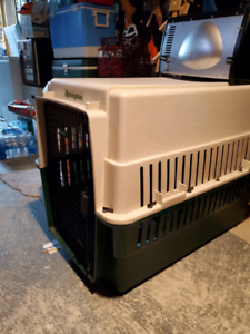 Large dog crate. 75.00 OBO