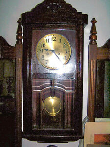 HORLOGE LENZKIRCH GERMAN BOX CLOCK GRAND-MERE CONDITION A-1