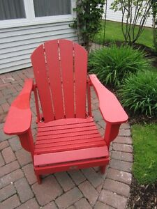 Red Adirondack chair for sale