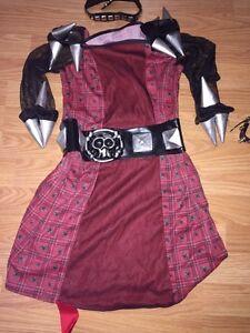 Skull Rocker Girl Costume