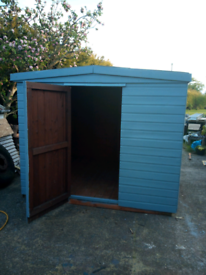 8x8 t&g shed in good condition heavy duty t&g floor