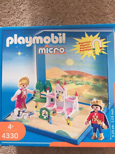 Retired PLAYMOBIL 4330 Fairy Tale Princess Castle Micro World w/