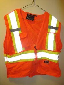Mesh Back Safety Vest - Small