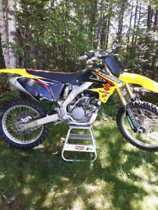2008 Suzuki RM-Z 250 Motocross bike