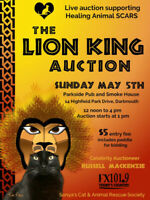 Live Auction for Healing Animal SCARS