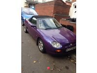 MGF 1.8i Great Condition Convertible