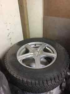 Blizzak Winter Tires and Rims for sale