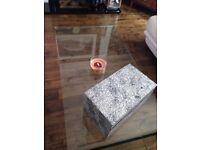 Modern Glass Coffee Table,