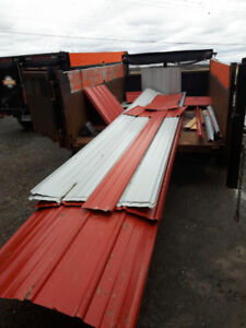 Red Steel Roofing