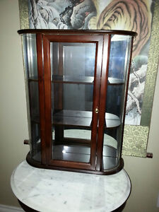 Bombay Co plate display cabinet