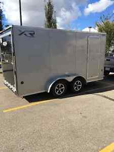 2014 Royal XR 7X16 Extra Heigh Screwless Torsion Trailer