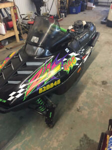 1997 Arctic Cat ZL 440 - Parting