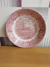 Plates in good condition