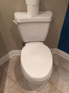 Excellente toilette très fonctionnelle