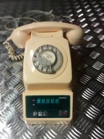 Monitel telephone old 1970 1980 vintage collectors phone 25 ono ne