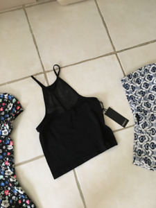 Brand New Forever 21 Black Top (Size S)