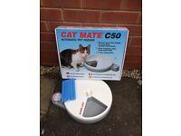 Cat feeder, beds, & travel box