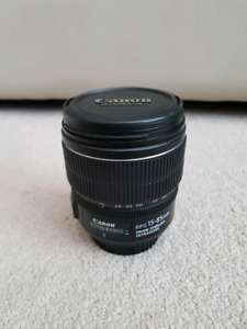 Canon EF-S 15-85mm lens with Image Stabilization