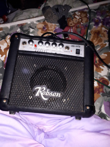 Robson electric guitar amp