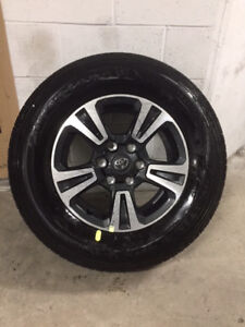 NEW Set of 4 Wheels & Tires from a Toyota Tacoma - $1300