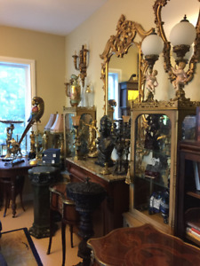 Sale of Antiques October 21 and 22, by appointment only!