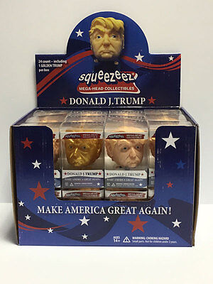 Donald Trump SqueezeEz Big Head doll  Collectible Stress Ball toy figure